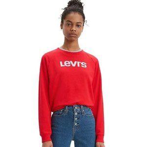 Levi's Sweatshirt (red, sz S)